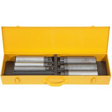 """REMS Nippelfix Set Nippelhållare automatisk, 1/2-3/4-1-1 1/4-1 1/2-2"""""""