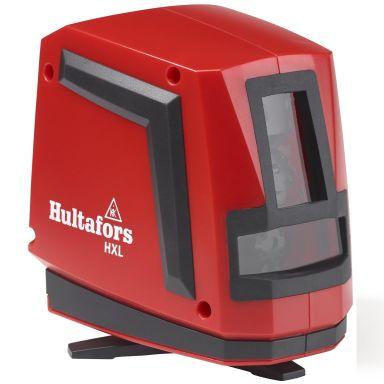 Hultafors HXL Korslaser med röd laserstråle