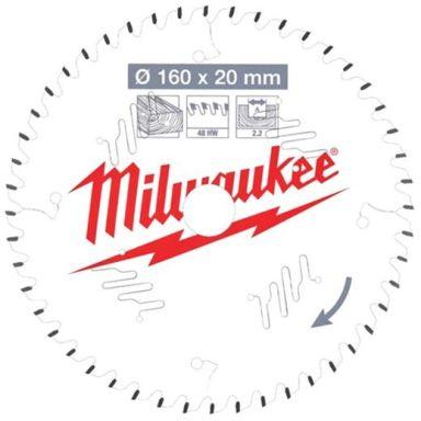 Milwaukee CSB P W Sagklinge 160x2,2x20 mm, 48T