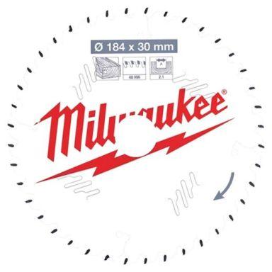 Milwaukee CSB P W Sagklinge 184x2,1x30 mm, 40T