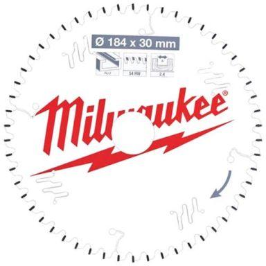 Milwaukee CSB P Alu Sagklinge 184x2,4x30 mm, 54T