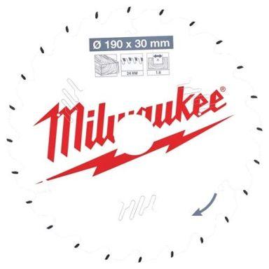Milwaukee CSB P W Sågklinga 190x1,6x30 mm, 24T
