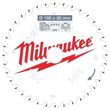 Milwaukee CSB P W Sågklinga 190x1,6x30 mm, 36T