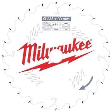Milwaukee CSB P W Sagklinge 235x2,4x30 mm, 24T