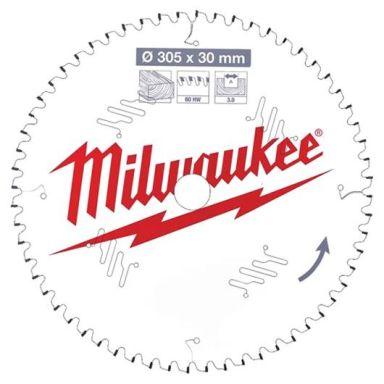 Milwaukee CSB MS W Sagklinge 305x3x30 mm, 60T