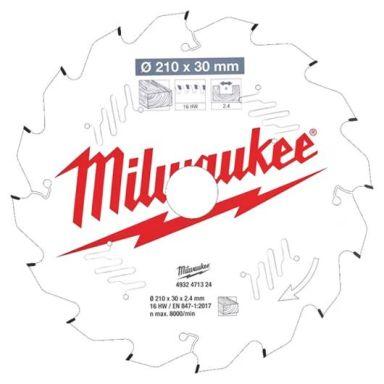 Milwaukee CSB MS W Sagklinge 210x2,4x30 mm, 16T