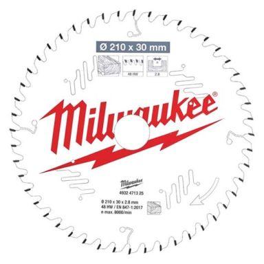 Milwaukee CSB MS W Sagklinge 210x2,8x30 mm, 48T