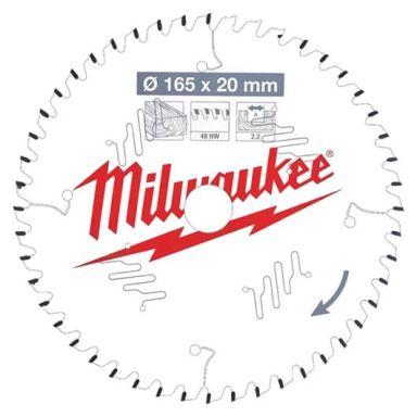 Milwaukee CSB P W Sagklinge 165x2,2x20 mm, 48T
