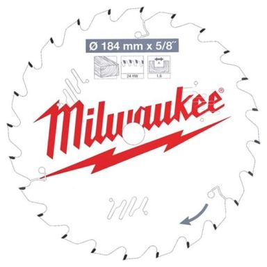 Milwaukee CSB P W Sagklinge 184x1,6x15,87 mm, 24T