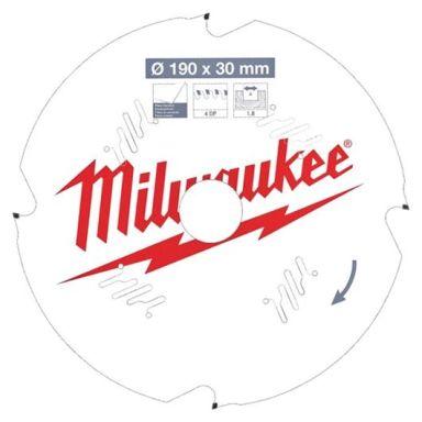 Milwaukee CSB P FC Sagklinge 190x1,8x30 mm, 4T