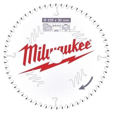 Milwaukee CSB P W Sagklinge 235x2,4x30 mm, 60T