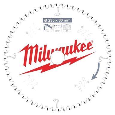 Milwaukee CSB P Alu Sagklinge 235x2,4x30 mm, 60T