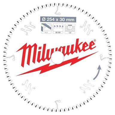 Milwaukee CSB MS Alu Sagklinge 254x3x30 mm, 80T