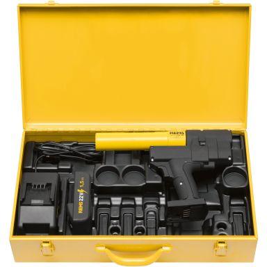 REMS Ax-Press 25 L Pressmaskin med 1,5 Ah batteri och laddare