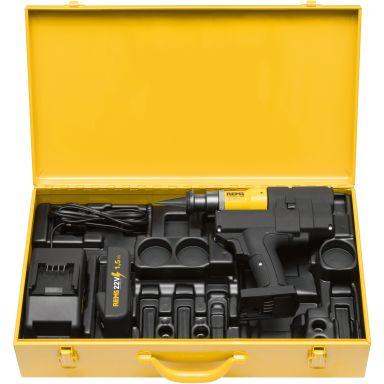 REMS Akku-Ex-Press P-CEF 22 V ACC Rörexpander med 1,5 Ah batteri och laddare