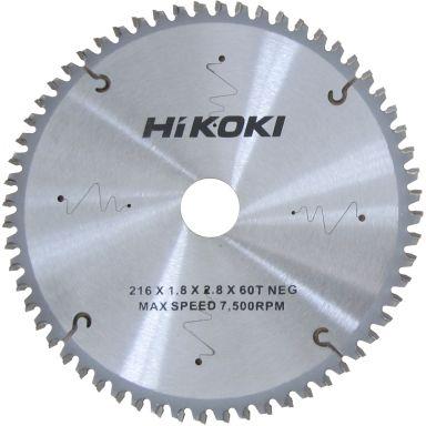 HiKOKI 60350071 Sågklinga 216 mm, 60T