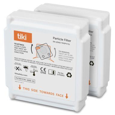 Tiki 110520110 P3-suodatin 2 kpl:n pakkaus