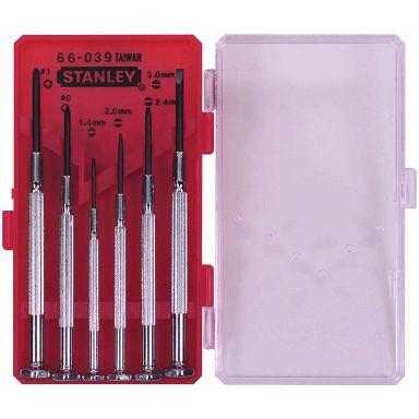 STANLEY 1-66-039 Skrutrekkersett 6 stk.