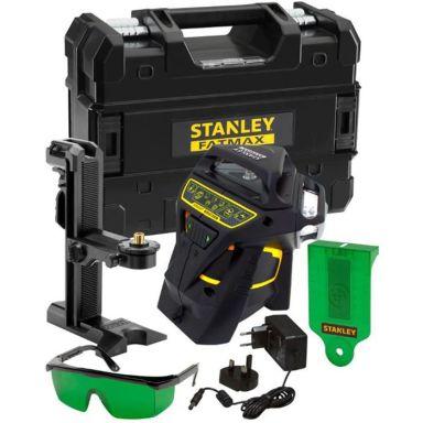 STANLEY FatMax X3G Korslaser med grön laser
