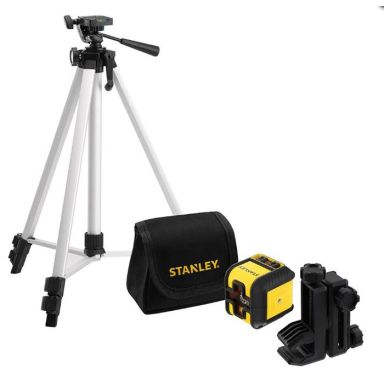 STANLEY Cubix Set Krysslaserpakke med grønn laser, stativ og veske