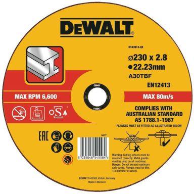 Dewalt DT43913-QZ Katkaisulaikka 230 x 3 mm