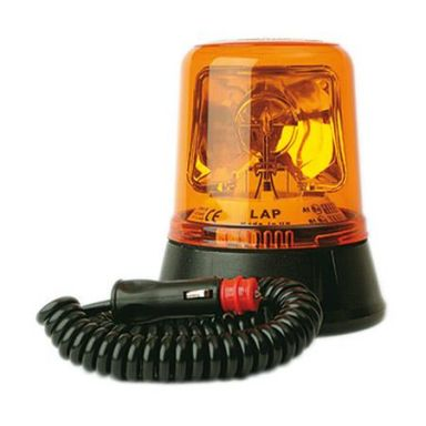 LAP LAP260K Varningsfyr med magnetfäste, roterande