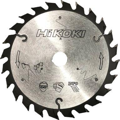 HiKOKI 60355026 Sågklinga TCT 216 mm, 24T, 10-pack