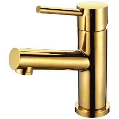 Adora Imperia Tvättställsblandare med pop up-ventil, guld