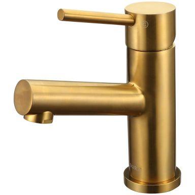Adora Imperia Tvättställsblandare med pop up-ventil, borstat guld