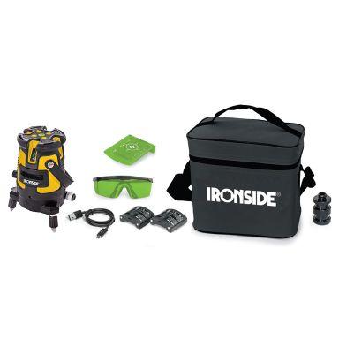 Ironside 102381 Krysslaser med grønn laser