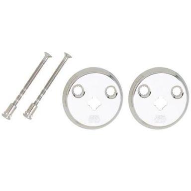 ASSA 2904 Nyckelskylt förnicklad, 2-pack