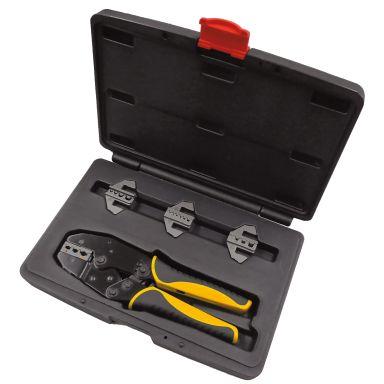 Ironside 102553 Pressverktøy 220 mm, 4 stk. innsatser