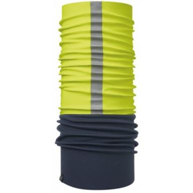 Buff Windproof Halsvärmare gul, med reflex