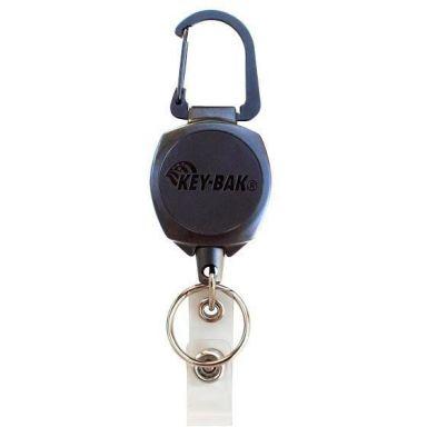 KEY-BAK Sidekick Nyckel- & ID-kortshållare karbinhake och kevlarlina