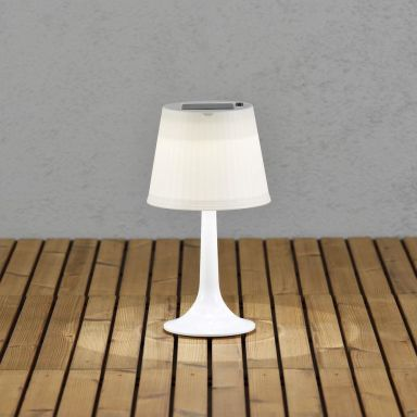 Konstsmide Assisi Bordslampa 0,5 W, solcell