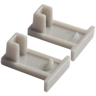 Hide-a-Lite Micro T Päätykappale muovia, 2 kpl/pakkaus
