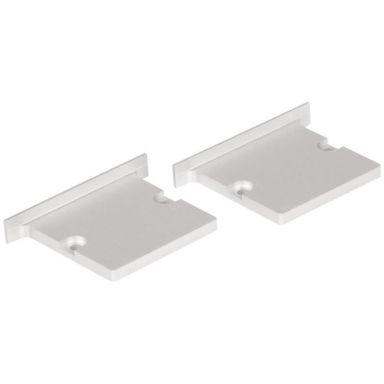 Hide-a-Lite Maxi T Päätykappale alumiinia, 2 kpl/pakkaus