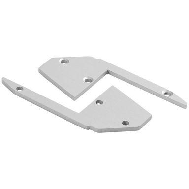 Hide-a-Lite Stair Päätykappale alumiinia, 2 kpl/pakkaus