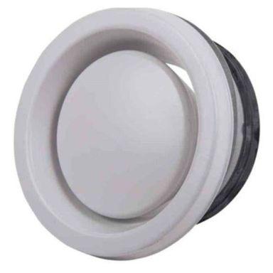Flexit 116457 Frånluftsventil vit, stål