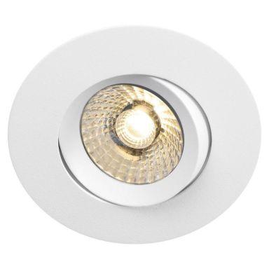 Hide-a-Lite Comfort G3 Tilt Downlight-valaisin valkoinen, 60°