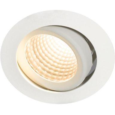 Hide-a-Lite Optic XL Downlight-valaisin 15W, kallistus, Dali-liitäntälaite