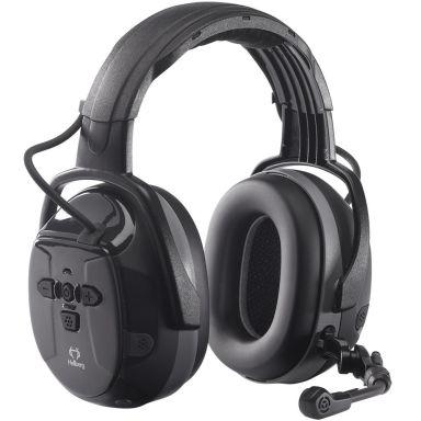 Hellberg Xstream LD Hörselskydd bommik, Bluetooth, medhörning, hjässbygel