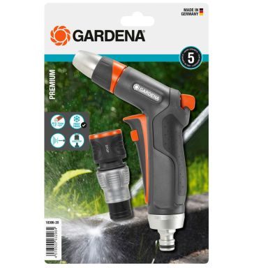 Gardena Premium Strålpistol med stoppkontakt