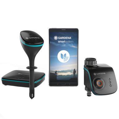 Gardena smart Sensor Control Set Vanningssett med sensor og gateway