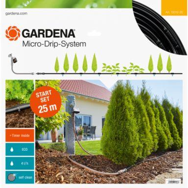 Gardena Micro-Drip-System Startpakke M, for planterader, automatisk
