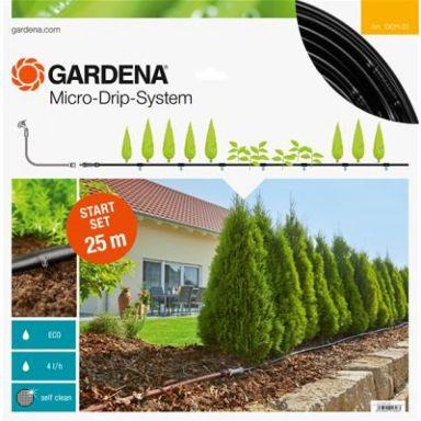 Gardena Micro-Drip-System Startpaket M, för plantrader