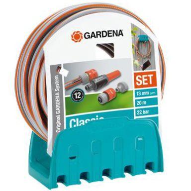 """Gardena 18005-20 Slangset 20 m, 1/2"""", med slanghängare"""