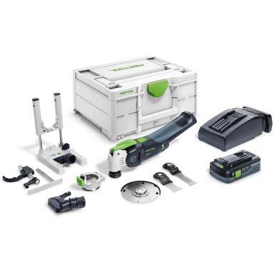 Festool OSC 18 HPC 4,0 EI-Set VECTURO Multiverktyg med batteri och laddare