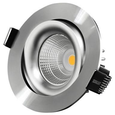 Designlight P-1602530A Downlight 7W, 3K, tilt