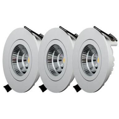 Designlight QB-301MW Downlight tilt, 3-pack